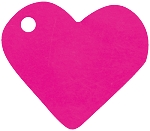 Heart shaped tags