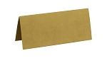 Rectangular folded Tags GOLD (pack of 10)