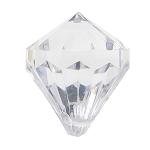 CLEAROUT Medium diamonds 1.8 x 2.8 cm  (pack of 6) Clear