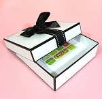Berkeley Gift/Jewelry box  medium / gift card  5 x 5 x 1.5