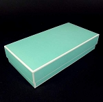 Berkeley Gift/Jewelry box  LONG 9 x 4.5 x 2 Tiffany style blue
