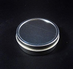 Shallow silver tin solid