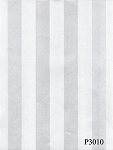 Gift wrap 24: x 100' roll White tone on tone stripes