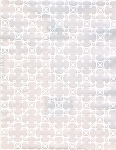 Gift wrap 24: x 100' roll quatrefoil tone on tone