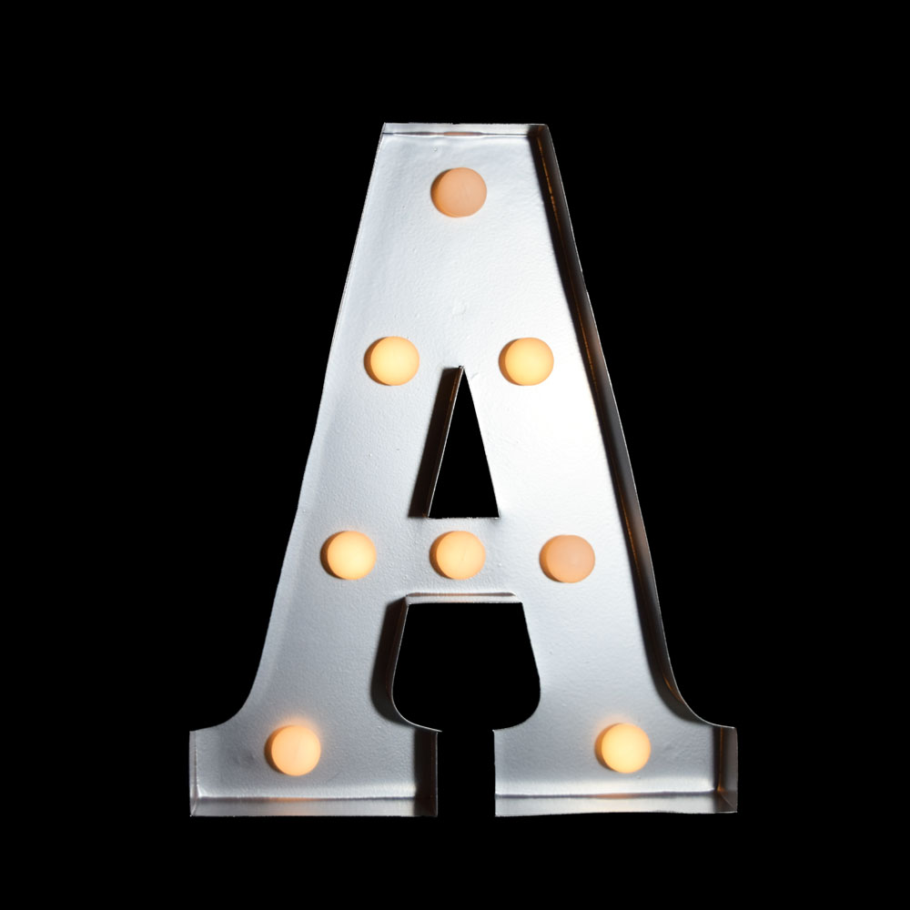 10 Inch Metal Letters Edison Vintage Light Bulbs Ottawa Wholesale Weddingspritchard