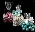 Gussetted Compostable clear candy bags (choose size)